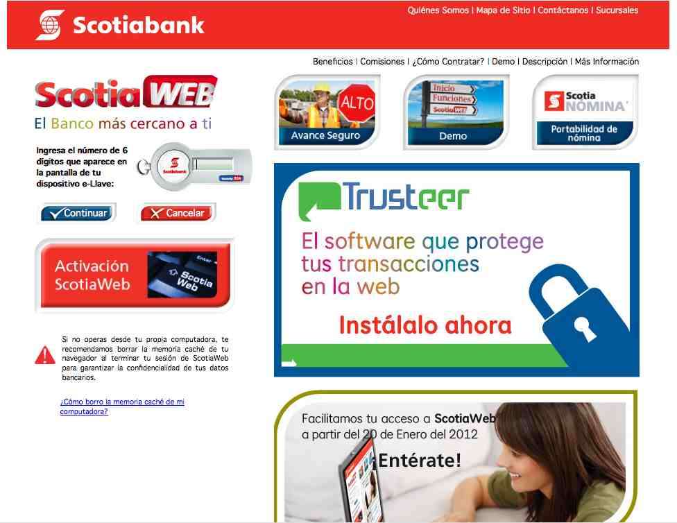 Fraude con Scotiabank por mail