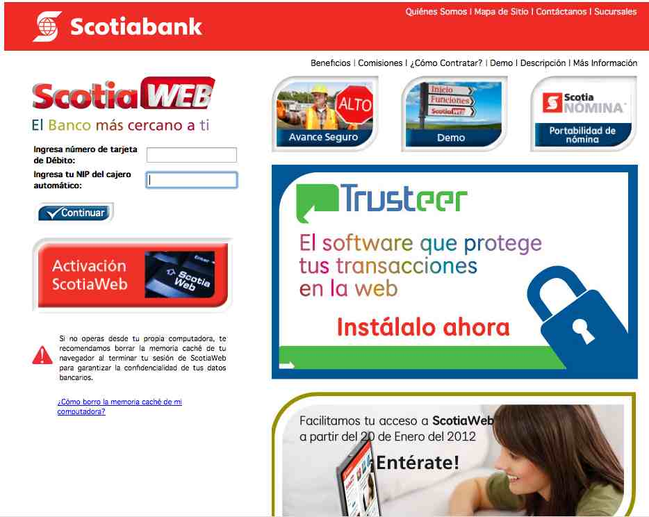 5 Fraude con Scotiabank por mail