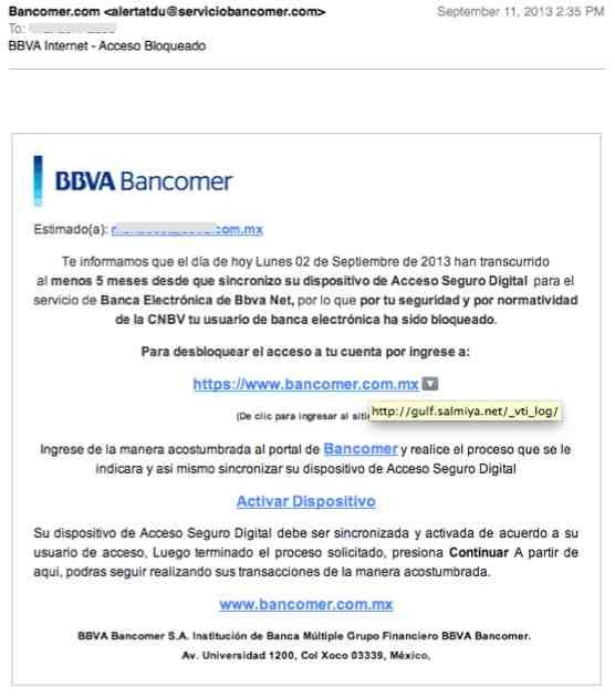 Acceso Digital BBVA-Bancomer