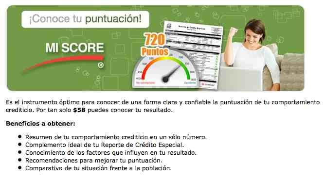 Mi Score Buro de Credito