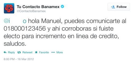 Banamex Twit