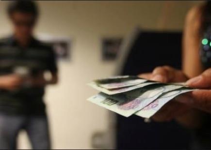 roban al salir del banco