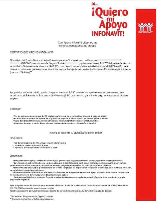 Cómo hacer correctamente la adhesión al Apoyo Infonavit