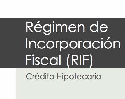 Credito Hipotecario para RIF