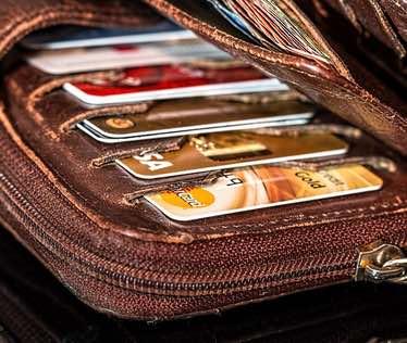 muchas tarjetas de credito