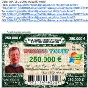 Bill gates international Lottery Foundation