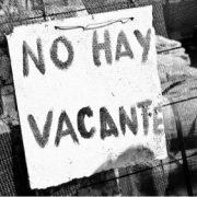 No hay Trabajo