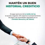 No pagar tu Recibo de CFE afecta tu Buró de Crédito además del corte de Luz