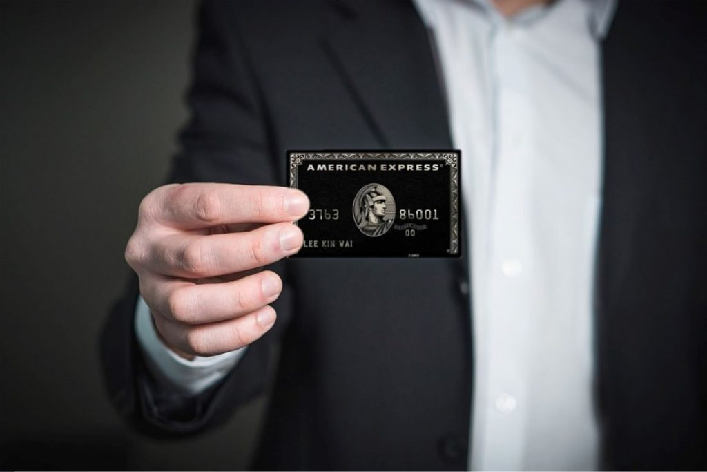 Tener una Tarjeta Negra de American Express