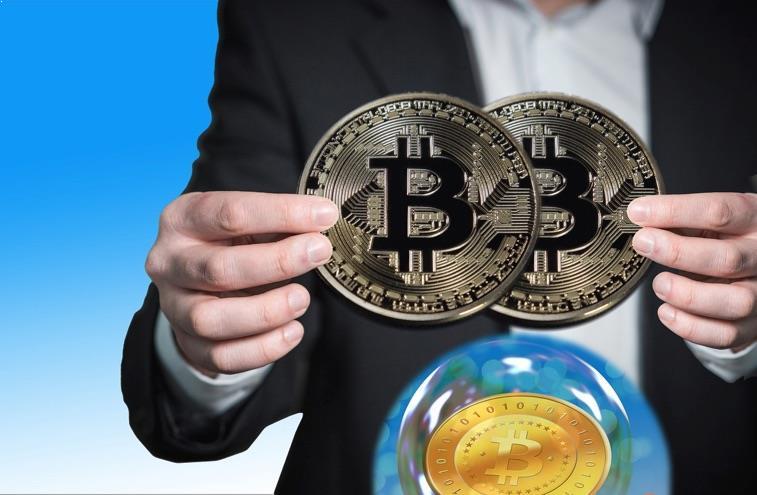 burbuja con el bitcoin