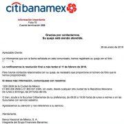 bonificacion Banamex resulto un fraude