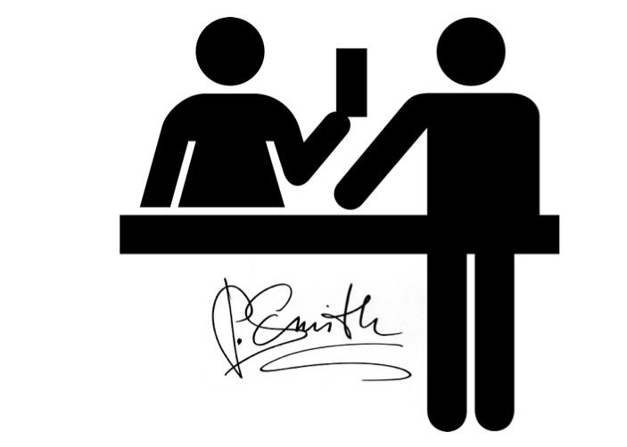 firmar el voucher en tarjeta de credito
