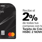 Tarjeta HSBC 2Now