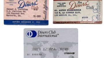 origen de las tarjetas de credito